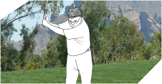 Minimalist Golf Swing System